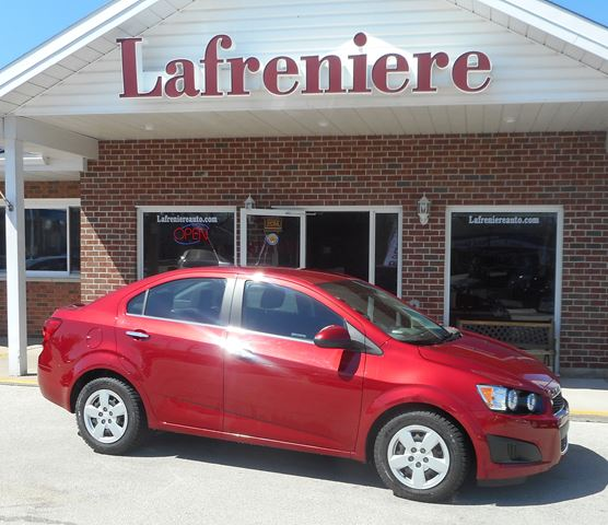 2012 Chevrolet Sonic LT in Stayner, Ontario