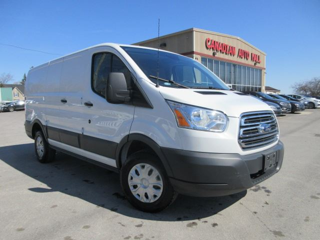 2016 ford transit cargo van low roof a c pw pl 28k white canadian auto mall. Black Bedroom Furniture Sets. Home Design Ideas