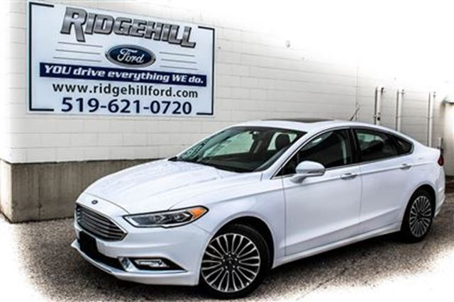 2017 Ford Fusion SE  AWD  NAVIGATION  LEATHER in Cambridge, Ontario
