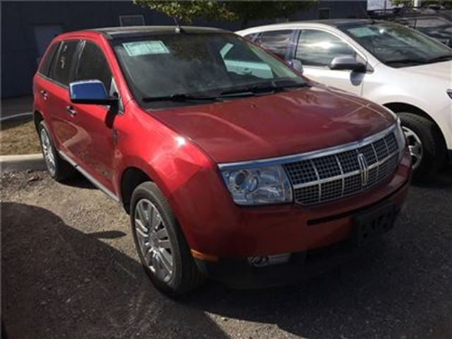 2009 Lincoln MKX AWD PANO. ROOF, HEATED/COOLED SEATS, BACKUP CAMERA in Barrie, Ontario