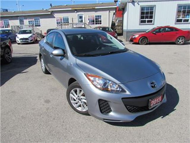 2013 MAZDA MAZDA3 GX   CLEAN   AIR CONDITION   MUST SEE in London, Ontario