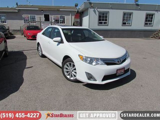 2014 Toyota Camry XLE   LEATHER   ROOF   NAV   FULLY LOADED in London, Ontario