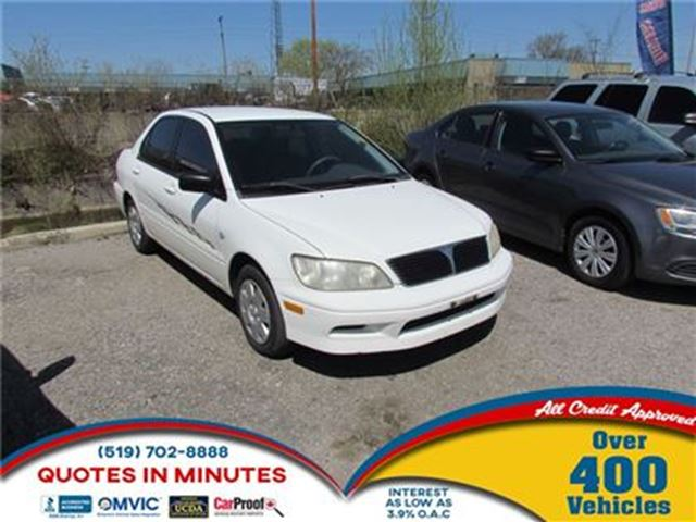 2003 MITSUBISHI LANCER ES   AS-IS SPECIAL in London, Ontario