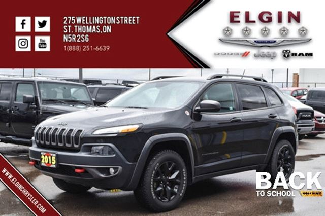 2015 JEEP CHEROKEE Trailhawk in St Thomas, Ontario