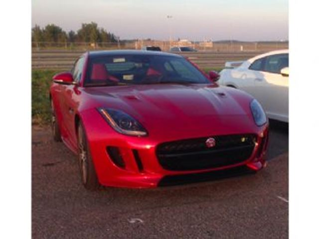 2016 JAGUAR F-TYPE Coupe R AWD, 5.0 V8 , Vision + Black Pack, Extended Leather in Mississauga, Ontario