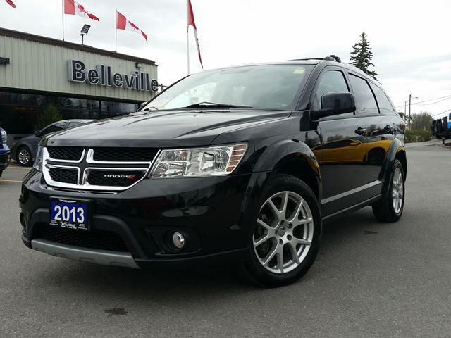 2013 DODGE Journey Crew model - REAR SEAT DVD- BACK UP CAM - 7 PASSENGER - REMOTE START in Belleville, Ontario