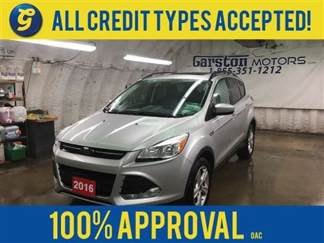 2016 Ford Escape SEL*4WD*POWER SUNROOF*LEATHER*BACK UP CAMERA*MICRO in Cambridge, Ontario