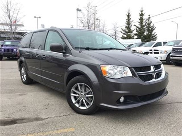 2015 DODGE GRAND CARAVAN SXT PREMIUM**BLUETOOTH**REAR CLIMATE CONTROL** in Mississauga, Ontario