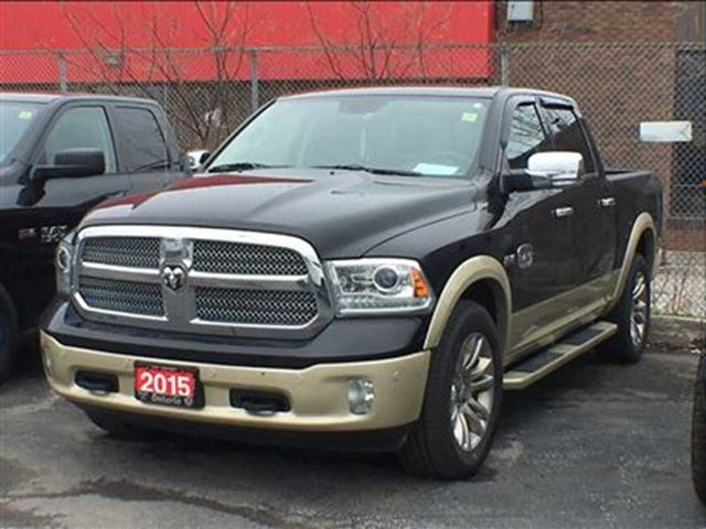 2015 DODGE RAM 1500 LONGHORN**SUNROOF**LEATHER**NAVIGATION** in Mississauga, Ontario