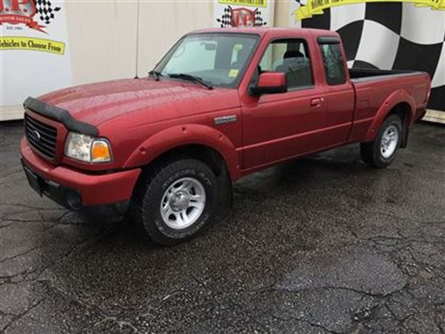 2008 Ford Ranger Sport, Crew Cab, Automatic, Only 58,000km in Burlington, Ontario