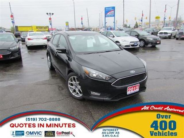 2015 FORD FOCUS SE   LEATHER   ALLOYS   SYNC in London, Ontario