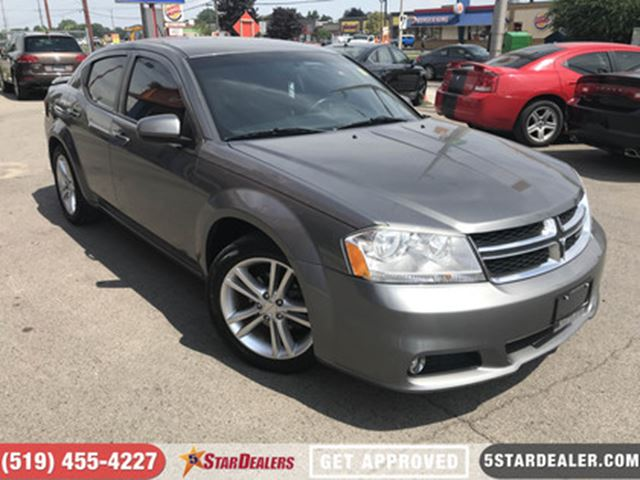 2012 DODGE AVENGER SXT   ALLOYS   GREAT RIDE   CLEAN in London, Ontario