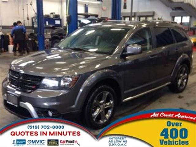 2015 DODGE JOURNEY CROSSROAD EDITION   7 PASS   NAV   BACKUP CAM in London, Ontario