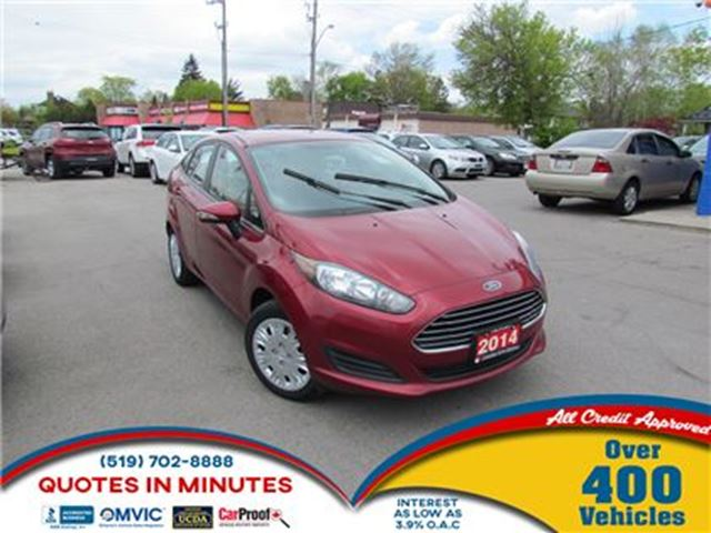 2014 FORD FIESTA SE   CLEAN   MUST SEE   GAS SAVER in London, Ontario