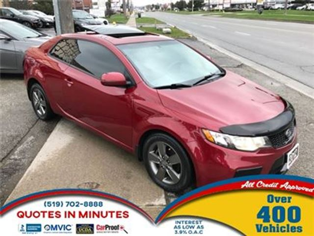 2012 KIA FORTE Koup EX   ROOF   HEATED SEATS   BLUETOOTH in London, Ontario