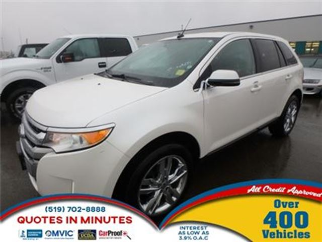2013 FORD EDGE LIMITED   AWD   LEATHER   NAV in London, Ontario