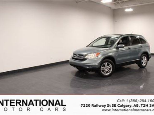 2011 Honda CR-V EX-L NAVI! 4WD! LOADED! in Calgary, Alberta
