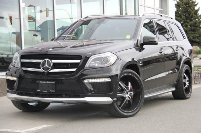2013 MERCEDES-BENZ GL-CLASS GL 63 AMG 4MATIC in Kamloops, British Columbia