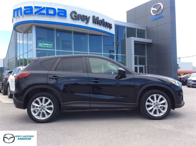 2014 Mazda CX-5 GT, P.Sunroof, Heated leather, Nav,One Owner! in Owen Sound, Ontario
