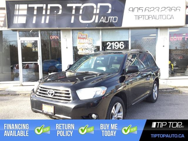 2010 Toyota Highlander Sport ** 7 Passenger, Leather, 4X4, Sunroof ** in Bowmanville, Ontario