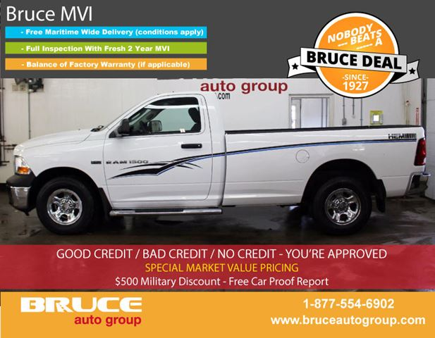 2011 Dodge RAM 1500 ST 5.7L 8 CYL HEMI AUTOMATIC 4X4 STANDARD CAB in Middleton, Nova Scotia