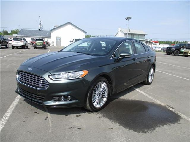 2016 Ford Fusion SE CUIR TOIT NAV 4RM in Mascouche, Quebec