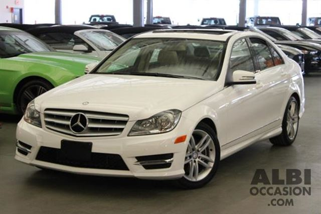 2013 Mercedes-Benz C-Class C300 CUIR TOIT 4MATIC in Mascouche, Quebec