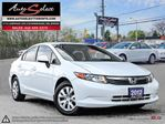 2012 Honda Civic ONLY 91K! **NOT A MIS-PRINT** POWER OPTIONS in Scarborough, Ontario