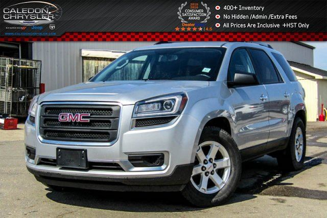 2014 GMC Acadia SLE1 AWD 8 Seater Backup Cam Bluetooth Keyless Entry Pwr Windows 18Alloy Rims in Bolton, Ontario