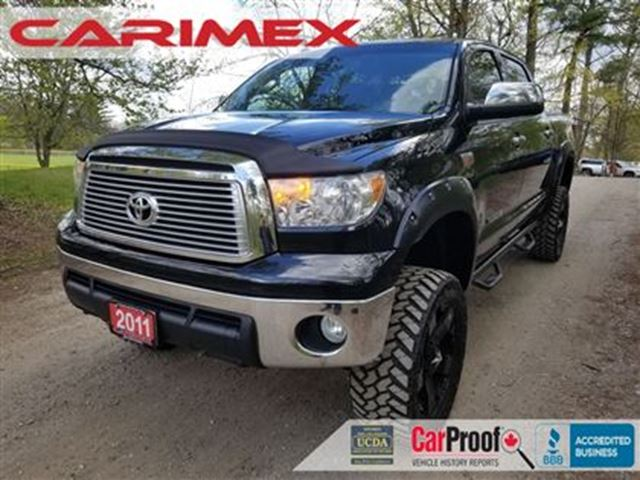 2011 Toyota Tundra Limited 5.7L V8 NAVI + Back-Up Camera  + Certified in Kitchener, Ontario