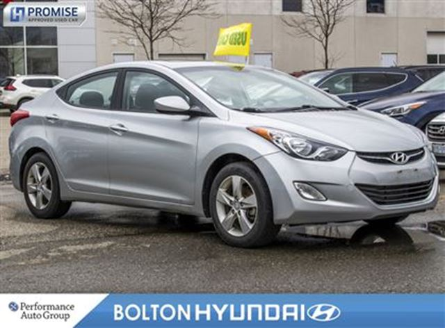 2013 Hyundai Elantra GLS Accident Free Moon Roof Bluetooth in Bolton, Ontario