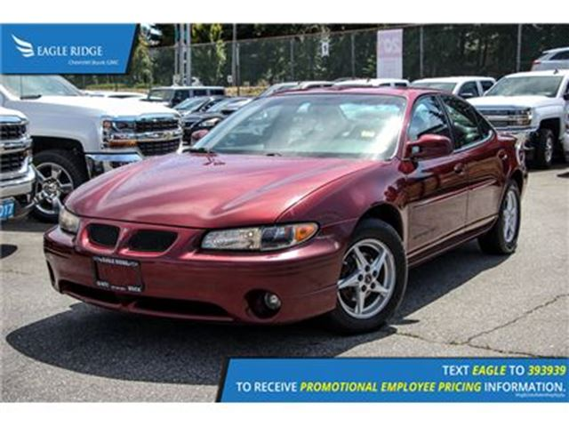 2003 PONTIAC GRAND PRIX SE in Coquitlam, British Columbia