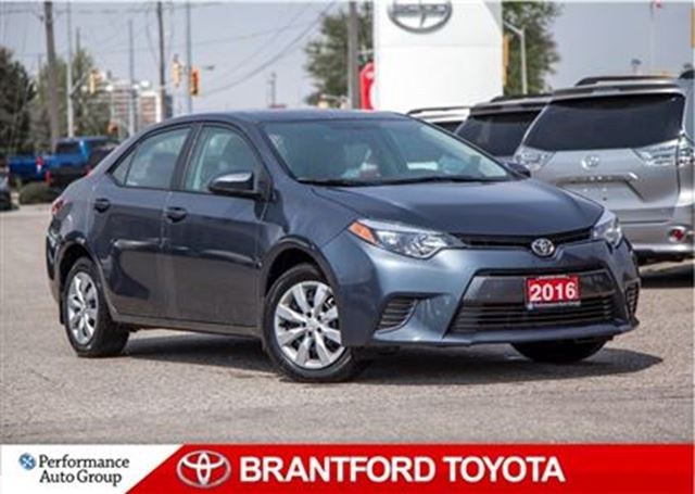 2016 Toyota Corolla LE, Carproof Clean, Back up Camera, Heat Seat in Brantford, Ontario