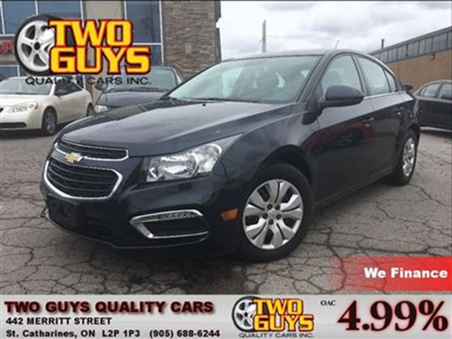 2015 Chevrolet Cruze LT 1LT BACK UP CAMERA ENGINE IMMOBILIZER in St Catharines, Ontario