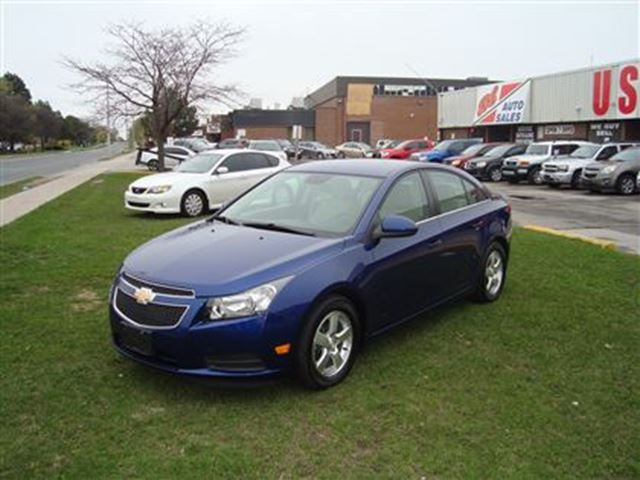 2013 Chevrolet Cruze LT Turbo ~ LEATHER ~ BACK-UP CAMERA ~ in Toronto, Ontario