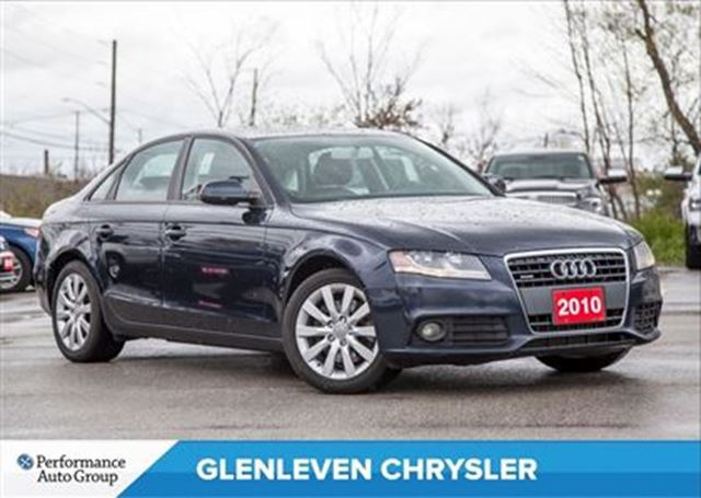 2010 Audi A4 Just Arrived...2.0T  PREMIUM   SUNROOF   LEATHER in Oakville, Ontario