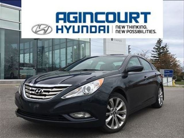 2013 Hyundai Sonata SE/LEATHER/PANO ROOF/OFF LEASE/ONLY 52139KMS in Toronto, Ontario