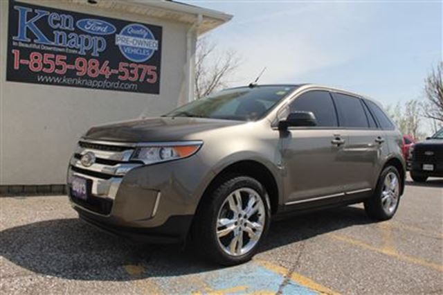 2013 Ford Edge SEL   Leather   Moonroof   NAV in Essex, Ontario