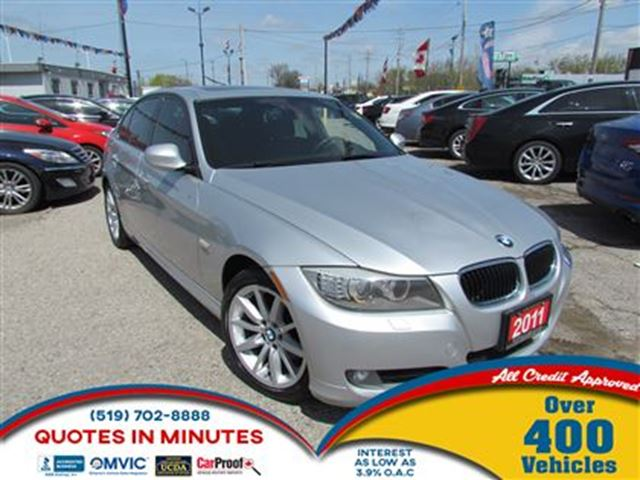 2011 BMW 3 Series 328 i i xDrive   AWD   LEATHER   CLEAN in London, Ontario