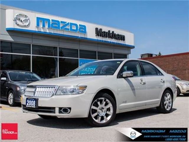 2008 LINCOLN MKZ MKZ ACCIDENT FREE LOW MILEAGE FULLY LOADED in Markham, Ontario