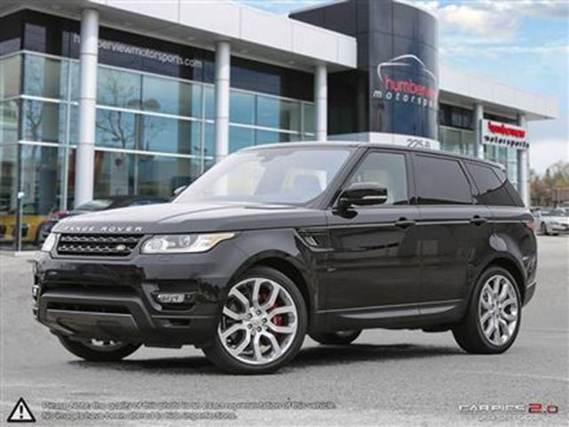2016 Land Rover Range Rover Sport V8 Supercharged in Mississauga, Ontario