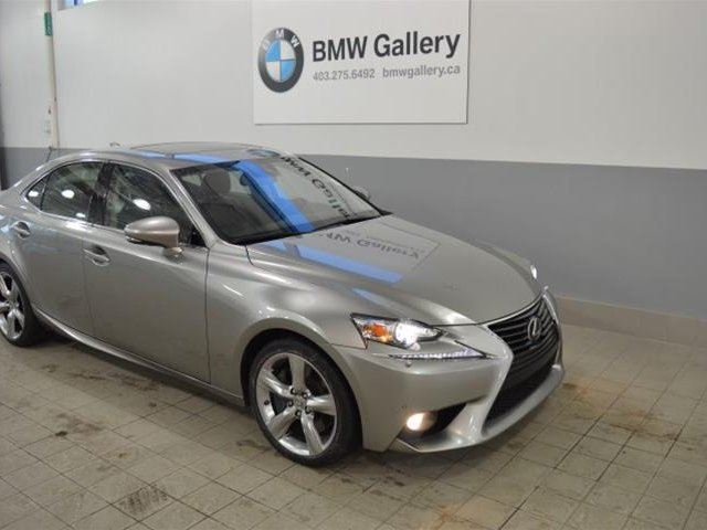 2014 LEXUS IS 350 AWD 6A in Calgary, Alberta
