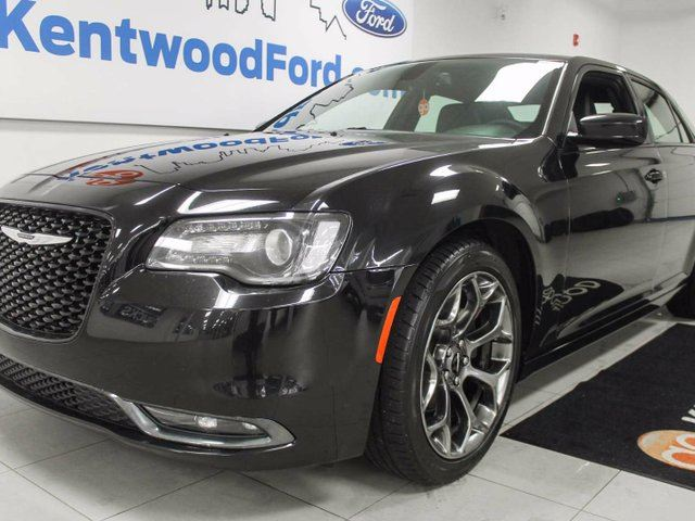 2016 Chrysler 300 300S in a mysterious black with back up cam and a devlish charm in Edmonton, Alberta