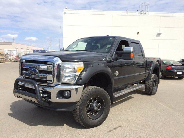2013 Ford F-350 BLACK LIFTED RIMS TIRES in Edmonton, Alberta