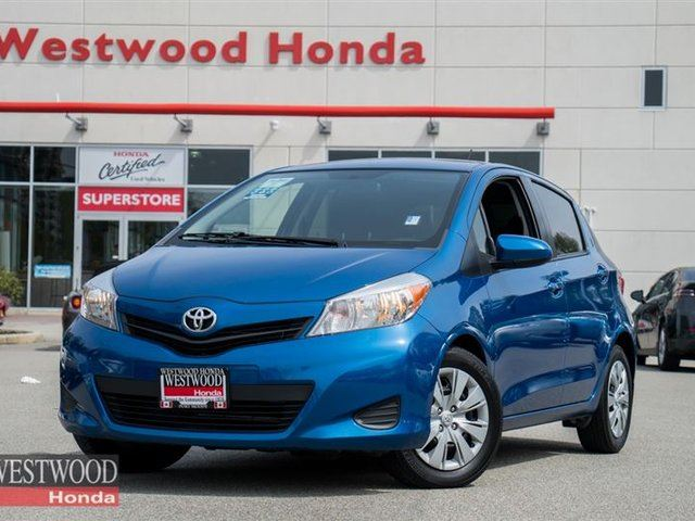 2013 Toyota Yaris LE (A4) in Port Moody, British Columbia
