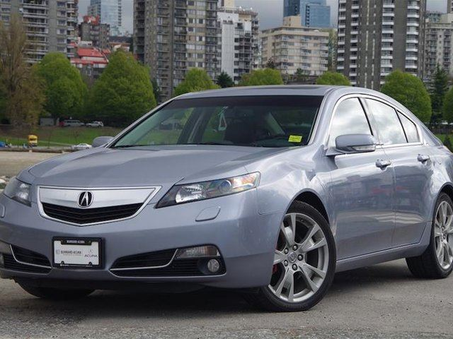 2012 Acura TL SH AWD Elite at in Vancouver, British Columbia