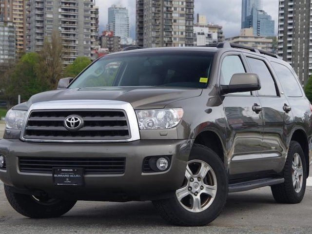 2011 TOYOTA SEQUOIA SR5 4.6L 6A in Vancouver, British Columbia