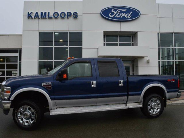 2008 FORD F-350 Lariat 4x4 SD Crew Cab 156 in. WB SRW in Kamloops, British Columbia