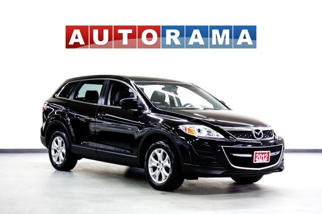 2012 Mazda CX-9 NAVI BACKUP CAM 7 PASS 4WD LEATHER SUNROOF in North York, Ontario