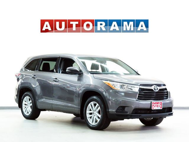 2015 Toyota Highlander LE 7 PASSENGER 4WD in North York, Ontario